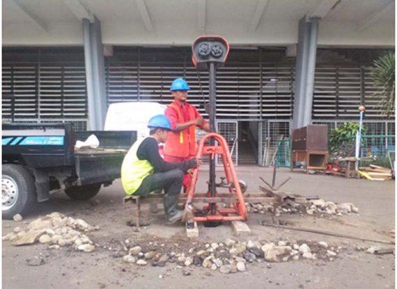Soil Investigation Stadion Utama Gelora Bung Karno