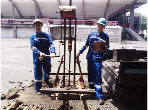 Soil Investigation Istora Senayan