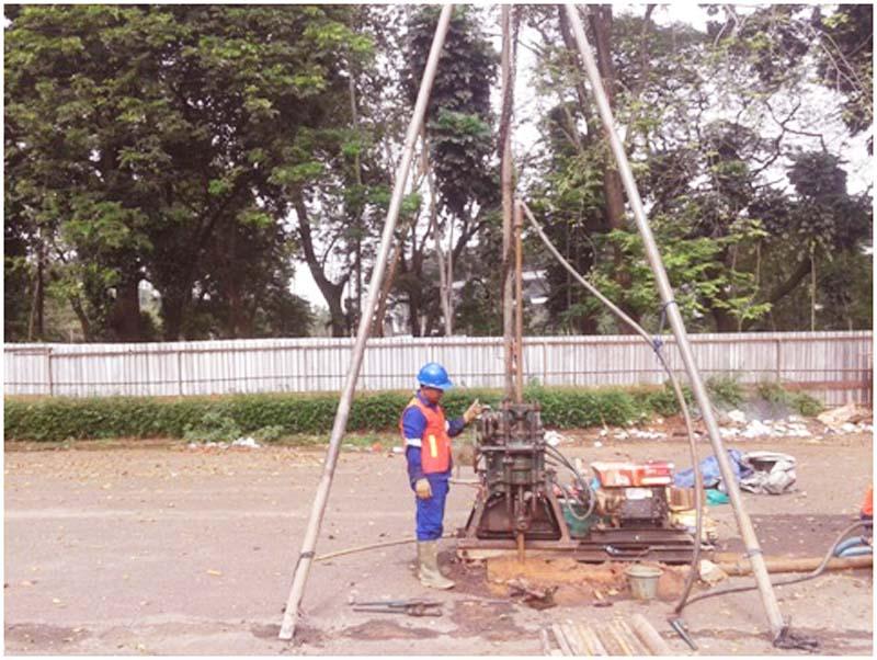 Soil Investigation Istora Senayan 4